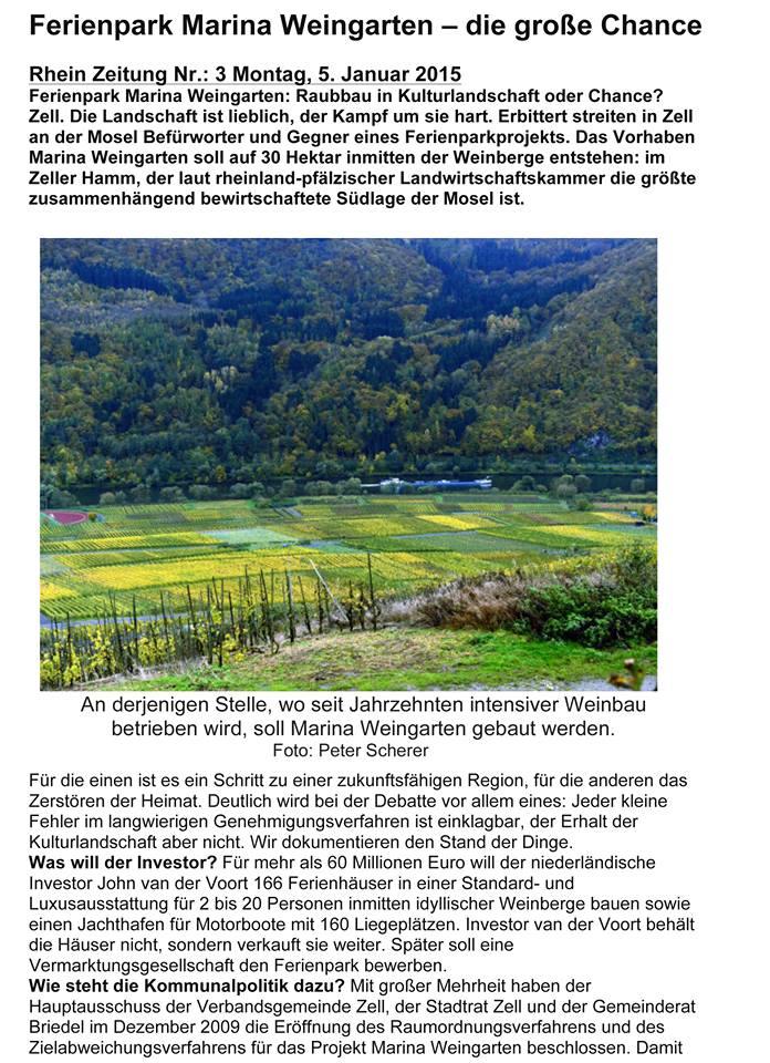 Rhein Zeitung 05-01-2015